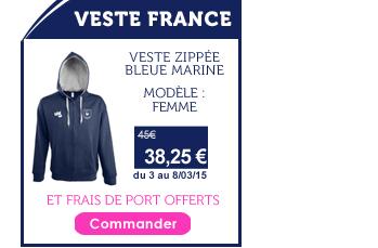 Promo Veste France Femme