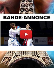 Bande annonce open de Paris