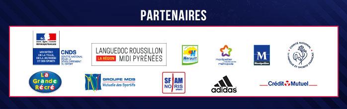 Partenaires des Championnats d'Europe de Karaté 2016 - du 5 au 8 mai 2016 - Arena Montpellier