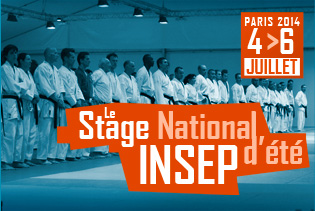 Stage national INSEP 2014