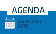 Agenda - Septembre 2016
