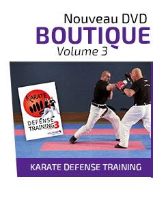 DVD Karate Defense Training