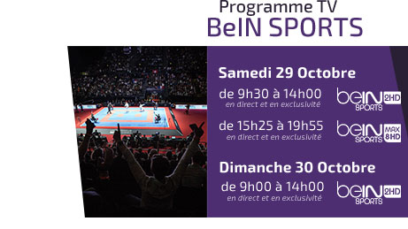 Programme TV - beIN Sports - Linz 2016