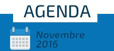 Agenda - Novembre 2016