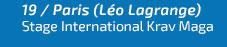 19 nov. - Stage international Krav Maga - Léo Lagrange (Paris)
