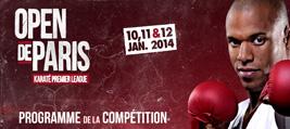 Programme - Open de Paris 2014
